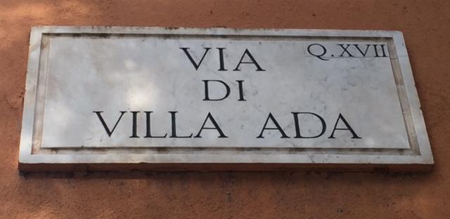 Via di Villa Ada