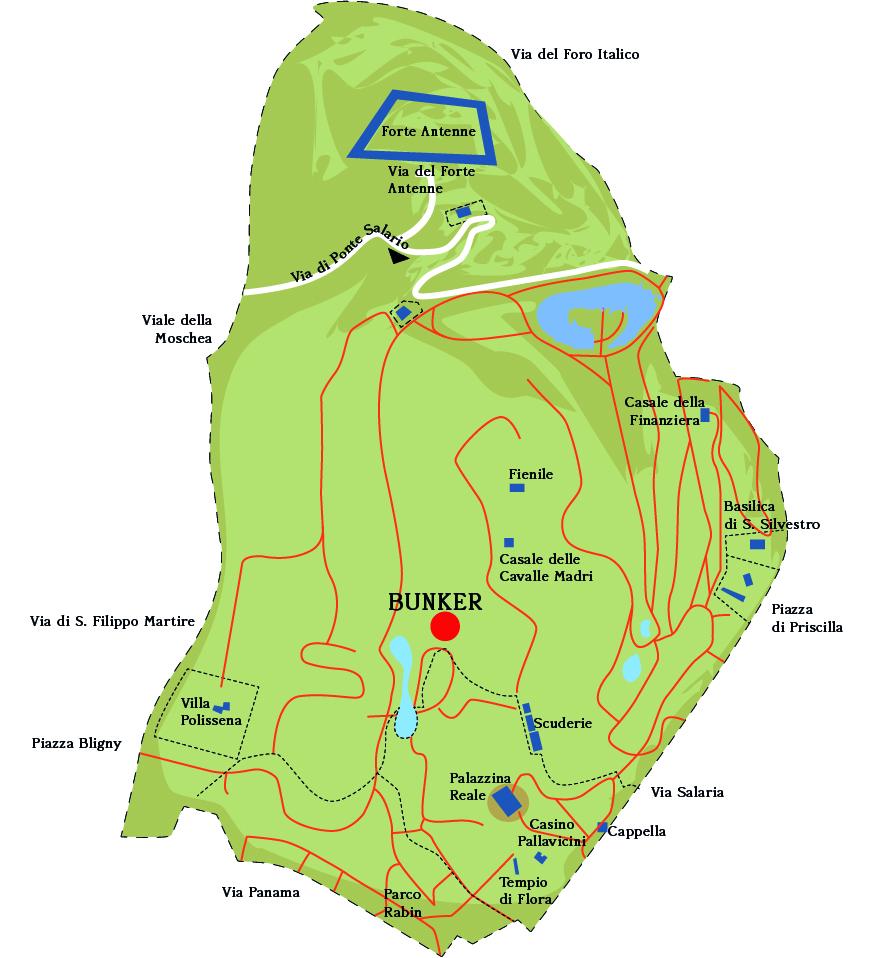 Mappa Villa Ada