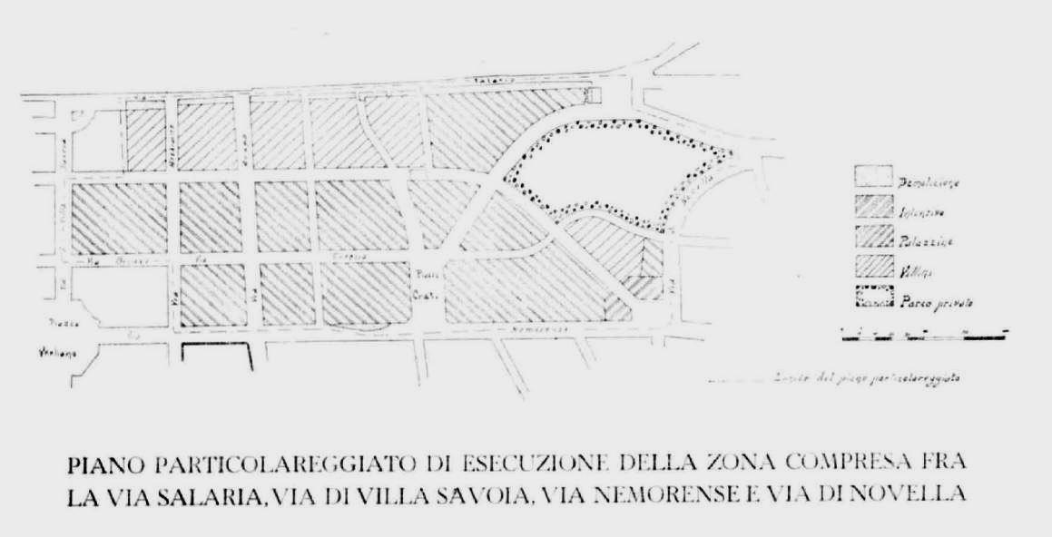 Piano particolareggiato 1939