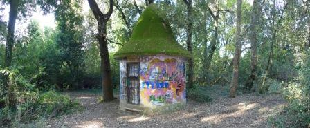 Torretta bunker villa ada savoia