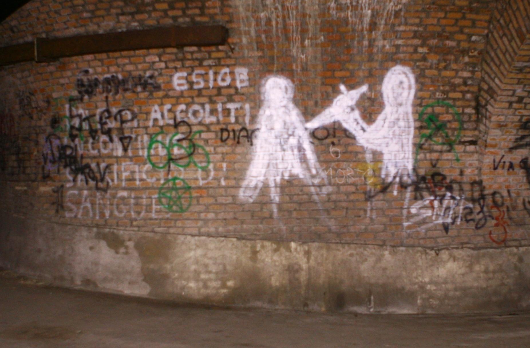 Bunker Villa Ada Savoia Graffiti